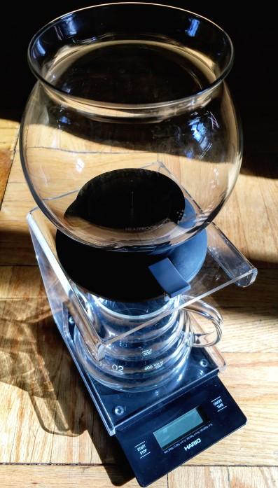Hario Tea Brewer close up